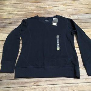 3/$18 Tek Gear Navy Sweat Shirt NWT